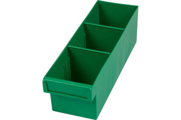 Fischer Plastic Green 300Mm Medium Parts Tray