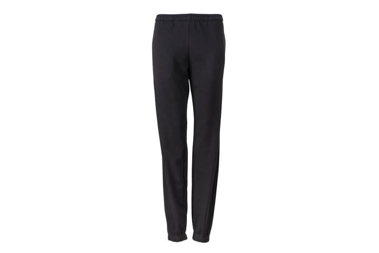 James and Nicholson Womens/Ladies Jogging Pants (Black) (L)