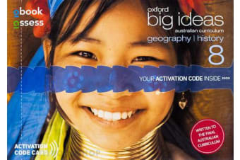 Oxford Big Ideas Geography/History 8 AC Student obook assess (code card)