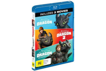How to Train Your Dragon Trilogy (Blu-ray)