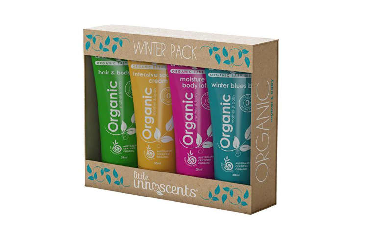Little Innoscents Winter Pack 30ml x 4 (Body Wash, Body Lotion, Soothing Crm & Winter Balm)