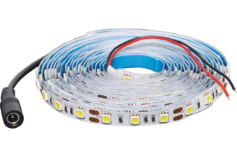 5050 Cool White 12 Volt LED Strip Light 5m