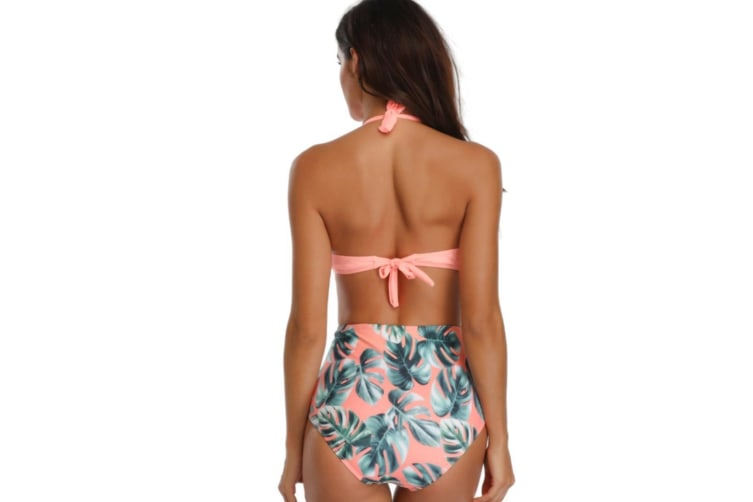 Women'S Bathing Suit Stitching Sexy Conjoined Bathing Suit - 5 L