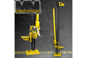 """MEAN MOTHER HI LIFT JACK 48"""" RECOVERY LIFTER MUD SAND OFFROAD FARM 4X4 H/DUTY"""