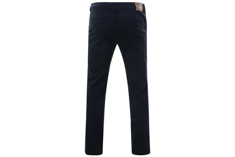 Kam Jeanswear Mens Stretch Chinos (Navy) (60L)