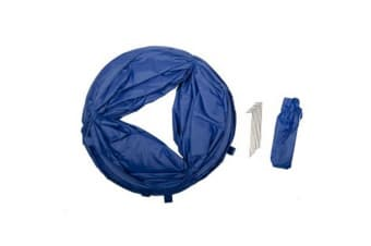 Pet Brands Agility Dog Tunnel (Blue)