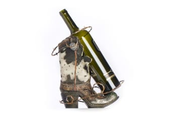 Bottle Holder Boot Wine Holder Country Western Home Decor