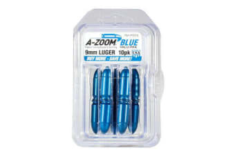 A-Zoom 9Mm Luger Blue Snap Caps 10-Pa #15316
