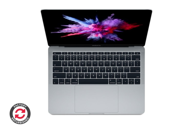 "Apple 13"" MacBook Pro (2.3GHz i5, 256GB, Space Grey) - MPXT2 - Apple Certified Refurbished"