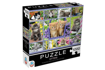 1000pc Arrow Puzzles Kittens 60.9cm Jigsaw Puzzle Toy/Game for Teens/Adult 15y+