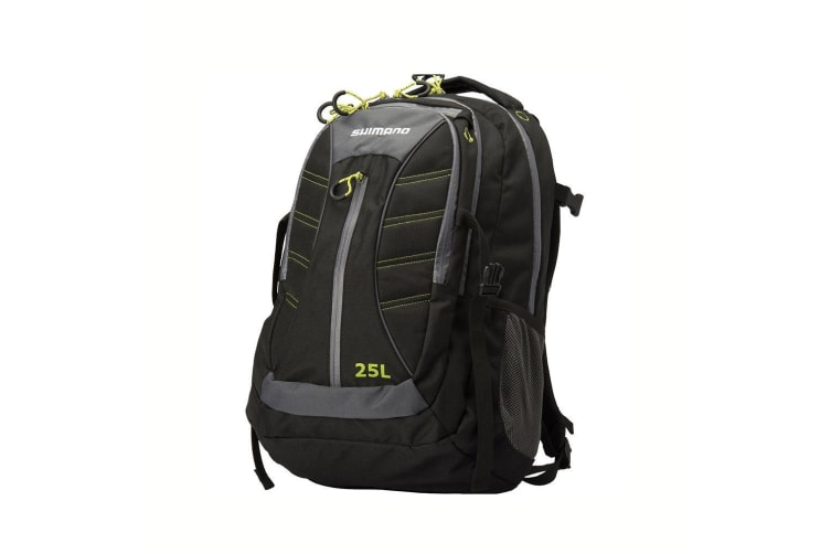 Shimano 25L Fishing Tackle Backpack with 5 Storage Compartments