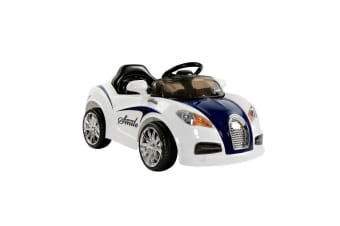 Kids Ride On Car (Blue/White)