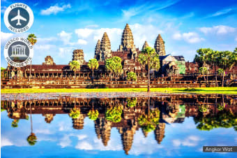 CAMBODIA: 7 Day Classic Cambodia Tour Including Flights for Two