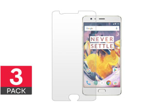 3 Pack Screen Protector for OnePlus 3/3T