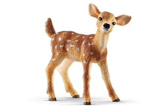 Schleich Wild Life White-Tailed Fawn Toy Figure