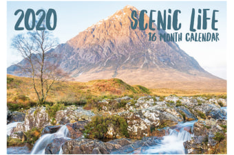 Scenic Life - 2020 Rectangle Wall Calendar 16 Months by Biscay (A)