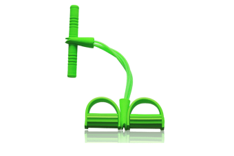 Sit-up Bodybuilding Expander Multifunction Leg Exerciser Pull Rope Green