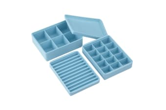 Mix & Match Stackable Ice Cube Trays - Set Of 3