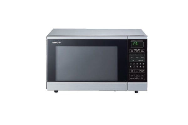 Sharp 900W Midsize Double Grill Convection Microwave Oven - Silver (R890NS)