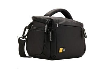 Case Logic Compact System/Hybrid/Camcorder Kit Bag - Black