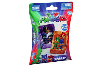 36pc PJ Masks Snap Playing Deck Card Educational Games/Toys Kids/Children 3y+
