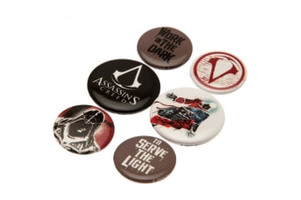 Assassins Creed Button Badge Set (Multicoloured)