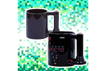 Retro Arcade Game Heat-Change Joystick Handle Mug 600ml