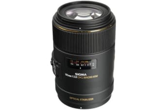 New Sigma 105mm f/2.8 MACRO EX DG OS HSM Lens Canon Mount (FREE DELIVERY + 1 YEAR AU WARRANTY)