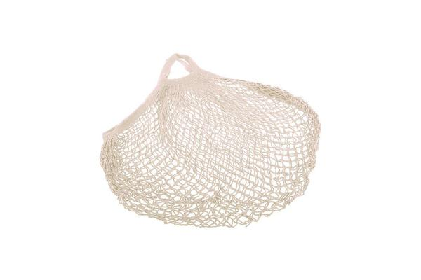 Appetito Cotton String Bag Short Handle Natural