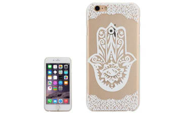 For iPhone 6S 6 Case  Hamsa High-Quality Transparent Shielding Cover