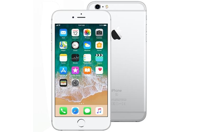 Used as Demo Apple Iphone 6S 128GB Silver (Local Warranty, 100% Genuine)