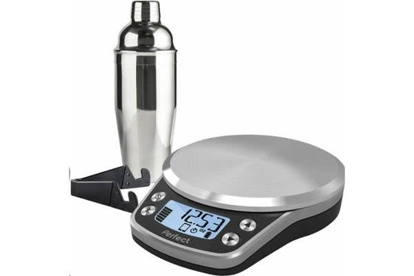 Perfect Drink PRO Smart Scale - Stainless steel/Black