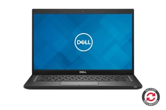 "Dell Latitude 7390 13.3"" FHD Windows 10 Pro Laptop (i7-8650U, 8GB RAM, 256 SSD, Black) - Certified Refurbished"