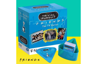 Friends The TV Series Trivial Pursuit Family Trivia Game | Warner Bros