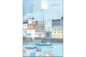 By the Sea - 2020 Diary Planner A5 Padded Cover by The Gifted Stationery