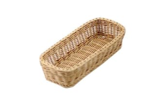 IconChef Hand Woven Bread Basket 28x11cm