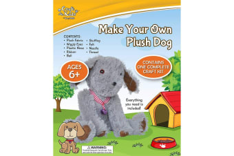 Make Your Own Plush Dog