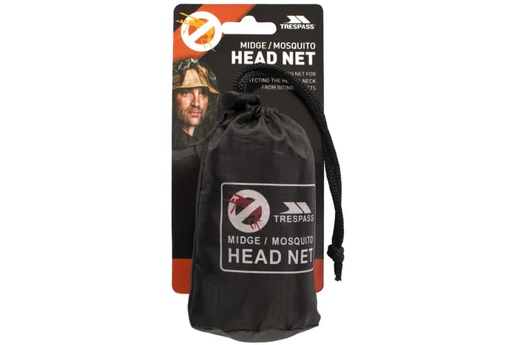 Trespass Midge Head/Face Mosquito/Insect Net (Black) (One Size)