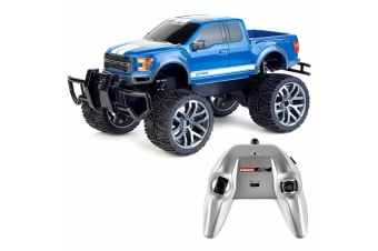 Carrera RC 1:14 Ford F-150 Raptor Off Road Kids 6y+ Toys w/ Remote Control Black