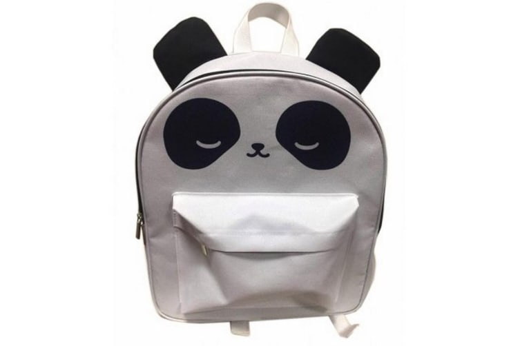 Childrens/Kids Pandarama Rucksack (Grey/Black) (One Size)