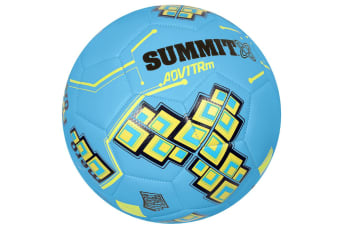 Summit ADV1 Size 5 Trainer Soccer Ball/Football Blue Sport/Game Indoor/Outdoor