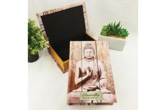 Personalised Buddha Secret Stash Book Box