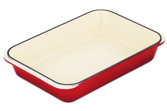 Chasseur Federation Red  Roasting Dish 40cm x 26cm