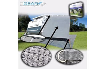 C GEAR END PRIVACY SCREEN 2.43m x 1.80m CGEAR ANNEX CARAVAN SHADE COVER AWNING