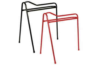 StableKit Collapsible Saddle Stand (Red)