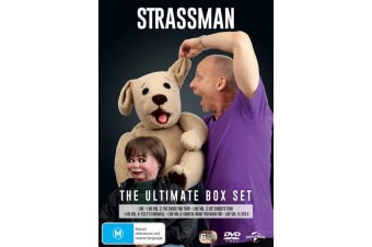 Strassman The Ultimate Collection Box Set DVD Region 4