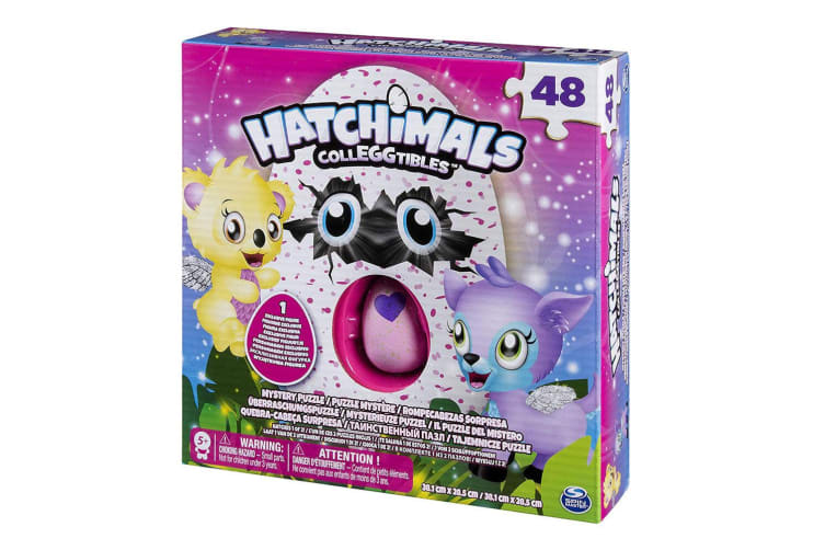 48pc Hatchimals Colleggtibles Mystery Puzzle & Figure