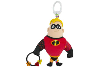 Lamaze Clip & Go Mr Incredible Baby Soft Toy