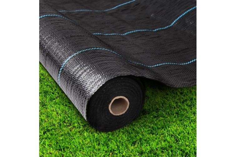 3.66x 20m Weed Mat Control Weedmat Woven Fabric Gardening Plant Tent