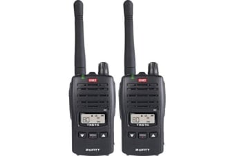 Gme 2W 80Ch Hand Held Twin Pack